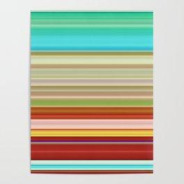 Stripes II Poster