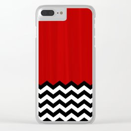 Twin Peaks - The Red Room Clear iPhone Case