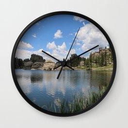 Sylvan Lake in the Black Hills Wall Clock