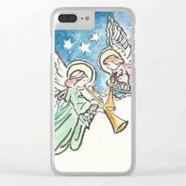 Angelic Hymn Clear iPhone Case