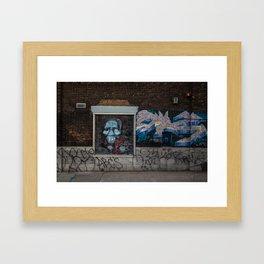 Spooky Street art Framed Art Print