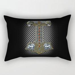 Tribute to Thor Rectangular Pillow