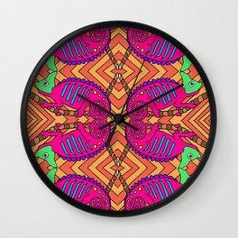 Chameleons Wall Clock