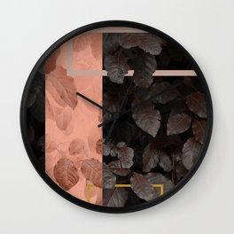 Gloomy Fall #society6 #decor #buyart Wall Clock