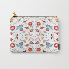 Spice Garden on White Carry-All Pouch