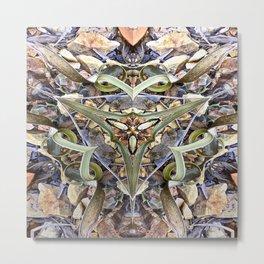 Magnified No 1 Metal Print