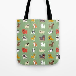 ASIAN DOGS Tote Bag