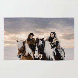 Le Voyage des soeurs Koizumi Rug