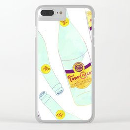 Topo Chico Sparkling Water Seltzer Bottle Clear iPhone Case