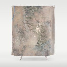 topo 1 Shower Curtain