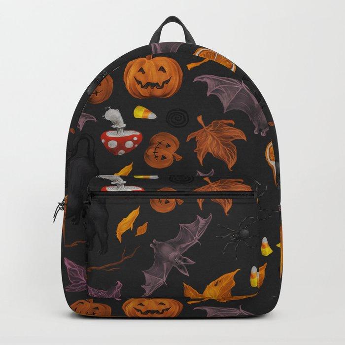 October pattern Backpack