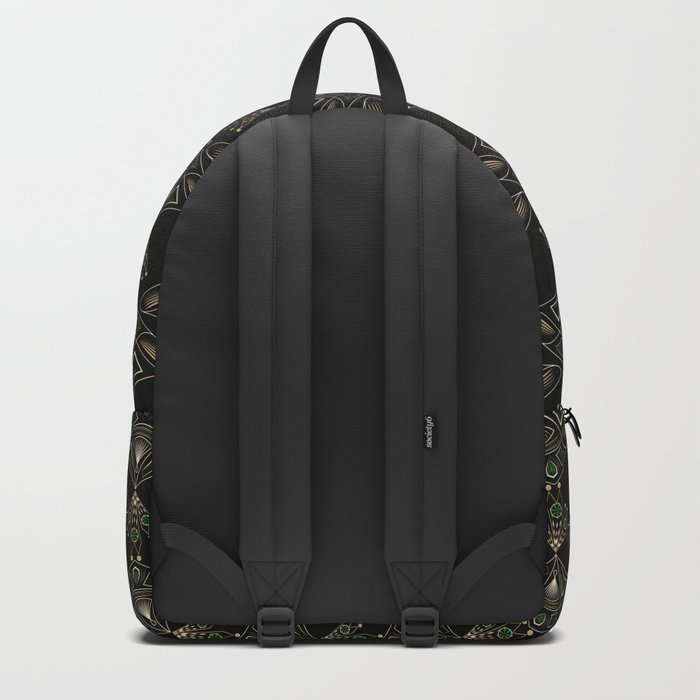 "Art Deco ""Emeralds "" Backpack"