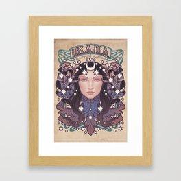 URANIA COLOR Framed Art Print