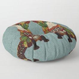 fox love Floor Pillow