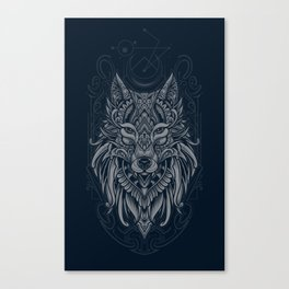 Wolf of North Canvas Print