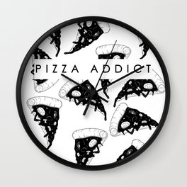 Pizza Addict Wall Clock