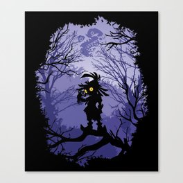 Zelda Majora's Mask Skullkid Canvas Print