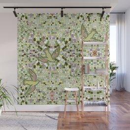 Bird Mosaic Wall Mural