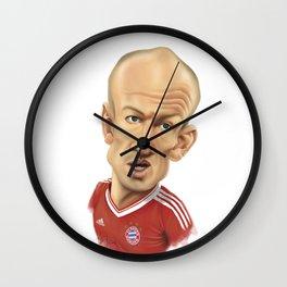 Arjen Robben - Bayer Munich Wall Clock