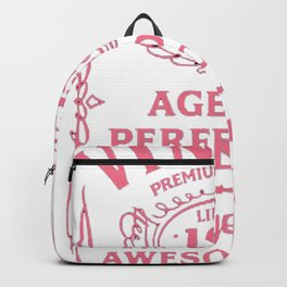 Pink-Vintage-Limited-1954-Edition---63rd-Birthday-Gift Backpack