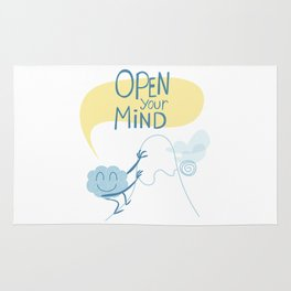 Open Your Mind making Exercice Rug