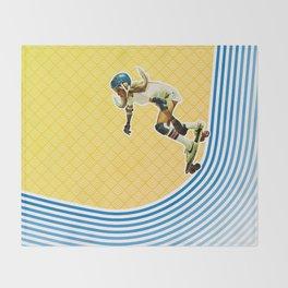 Skate Like a Girl Throw Blanket
