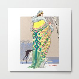 Art Deco 3 Metal Print