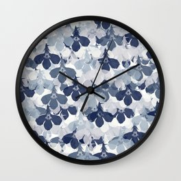 Abstract flower pattern 2 Wall Clock