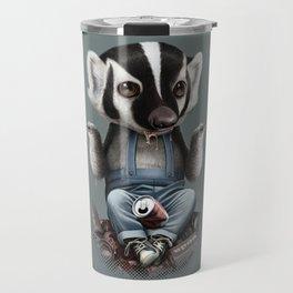 BADGER TAKES ALL Travel Mug