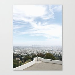 Griffith Observatory Canvas Print