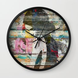 Shyness (Profile of Child) Wall Clock