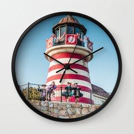 Ocean Voyage 4 Wall Clock