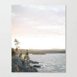 Pukaskwa National Park - Ontario, Canada | lake superior - landscape - photography - sunrise - trees Canvas Print