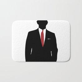 Skyfall, James Bond,minimalist design , alternative poster, Daniel Craig, Javier Bardem, Sam Mende Bath Mat