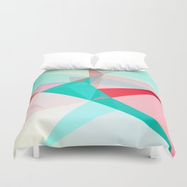 FRACTION - Abstract Graphic Iphone Case Duvet Cover