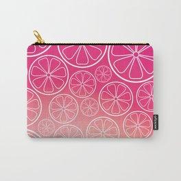 Citrus slices (pink grapefruit) Carry-All Pouch