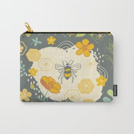 Little Bee and Buttercups Carry-All Pouch
