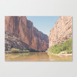 Santa Elena Canyon Canvas Print