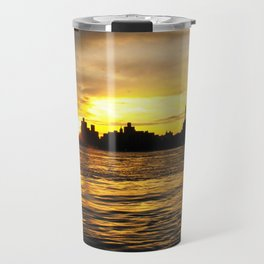 New York Sunset Travel Mug