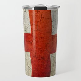 Vintage England flag Travel Mug