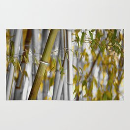 Bambuswald abstrakt Rug