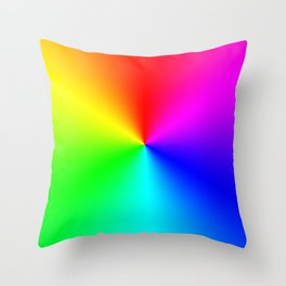 The Flickering Lights Throw Pillow