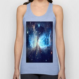 A Star is Born Teal Unisex Tank Top