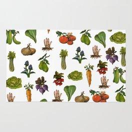 Vegetables Pattern Rug