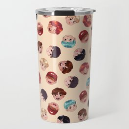 BTS Pattern Travel Mug