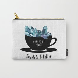 Crystals & Coffee Carry-All Pouch