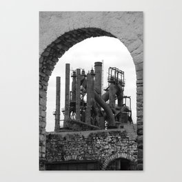 Bethlehem Steel Blast Furnace 7 Canvas Print