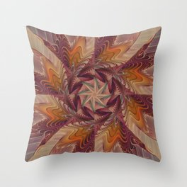Spinning Energy Throw Pillow