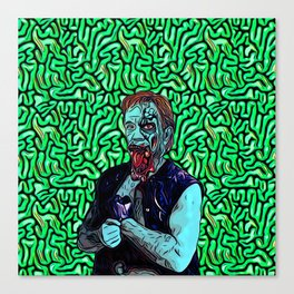 Zombie Fighter Canvas Print