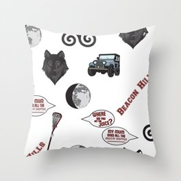 Teen wolf  Throw Pillow